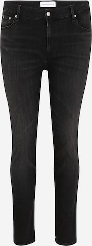 Calvin Klein Jeans Plus Teksapüksid 'SKINNY PLUS', värv must