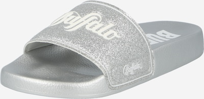 Zoccoletto 'RIO' BUFFALO di colore argento / bianco, Visualizzazione prodotti