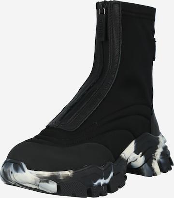 Sneaker înalt de la BRONX pe negru