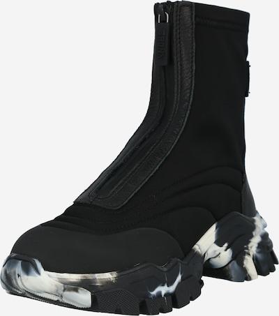 Sneaker înalt BRONX pe negru, Vizualizare produs
