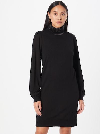 Love Moschino Kleid in anthrazit / schwarz, Modelansicht