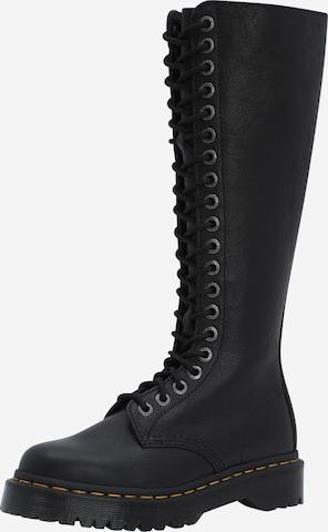 juoda Dr. Martens Suvarstomieji batai