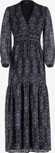 ONE MORE STORY Kleid in lila / schwarz, Produktansicht