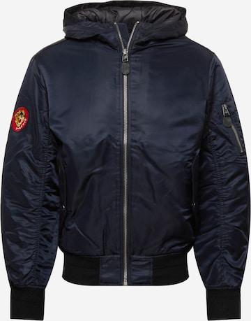 Superdry Between-season jacket in Blue