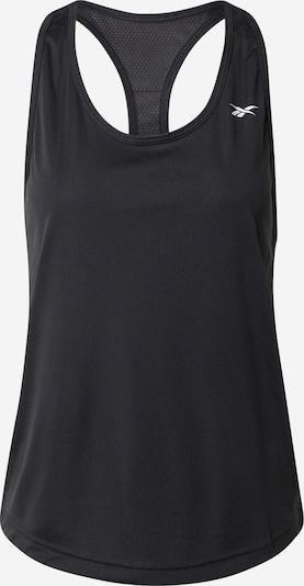 Reebok Sport Sportski top u crna / bijela, Pregled proizvoda