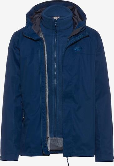 JACK WOLFSKIN Doppeljacke 'Terrace 3in1' in blau, Produktansicht