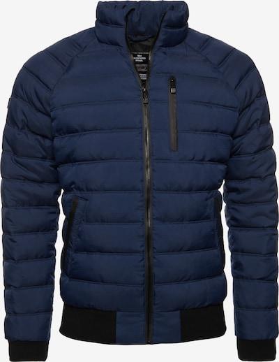 Superdry Winterjas in de kleur Donkerblauw / Zwart, Productweergave