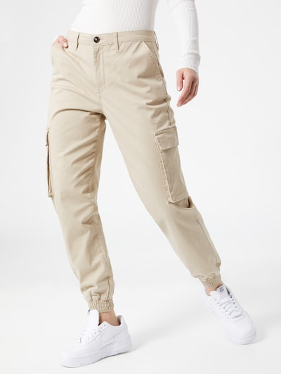 ONLY Cargohose 'Tiger' in beige, Modelansicht