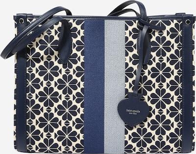 Plase de cumpărături Kate Spade pe ecru / albastru marin / albastru deschis, Vizualizare produs