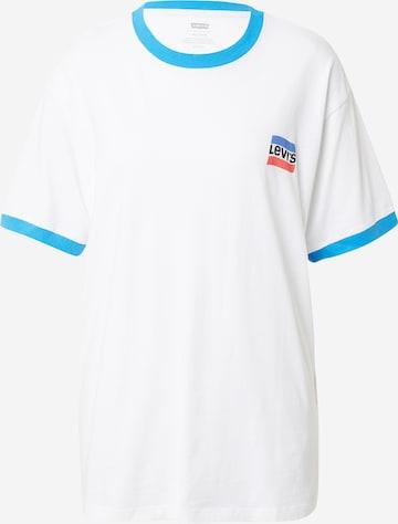 LEVI'S Skjorte 'RINGER' i hvit