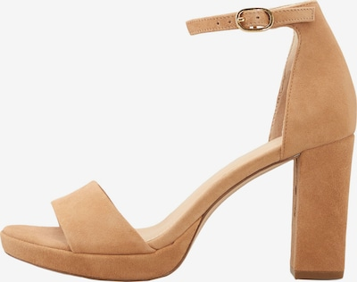 COX Sandaletten Riemchen-Sandalette in braun / hellbraun, Produktansicht