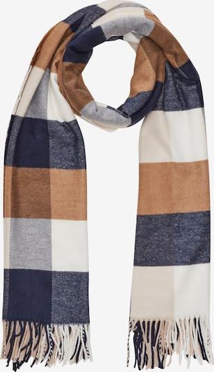 s.Oliver Schal in dunkelblau / grau / orange / weiß, Produktansicht