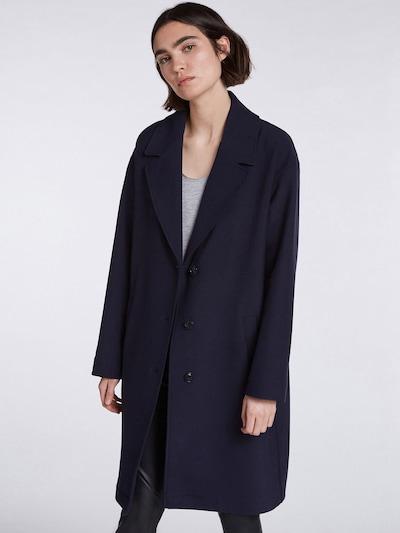SET Mantel in dunkelblau, Modelansicht