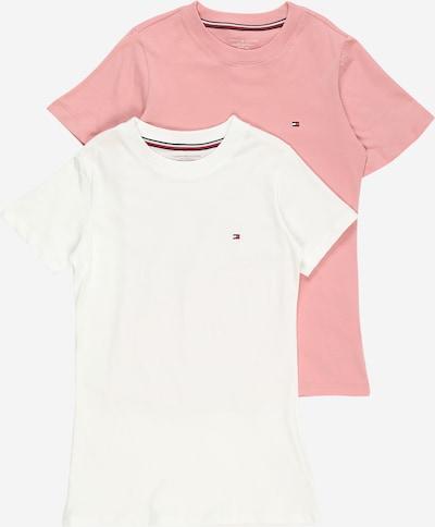 Tommy Hilfiger Underwear T-Shirt en rose ancienne / blanc, Vue avec produit