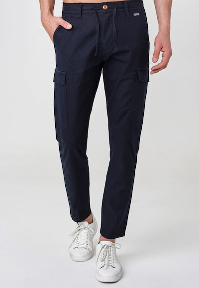 INDICODE JEANS Cargohose 'Cagle' in navy: Frontalansicht