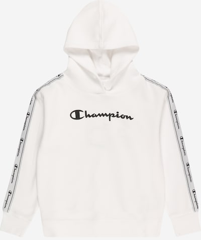 Champion Authentic Athletic Apparel Sweater majica u crna / bijela, Pregled proizvoda
