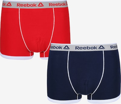 REEBOK Trunks in blau / rot, Produktansicht