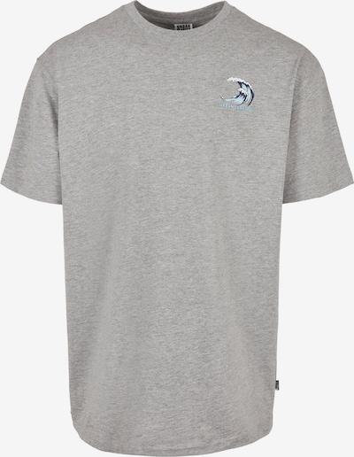 Urban Classics Big & Tall T-Shirt in marine / türkis / graumeliert / weiß, Produktansicht