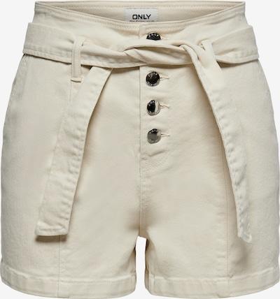 ONLY Shorts 'Carra' in wollweiß, Produktansicht