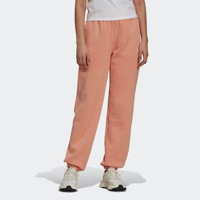ADIDAS ORIGINALS Jogginghose in apricot / weiß, Modelansicht