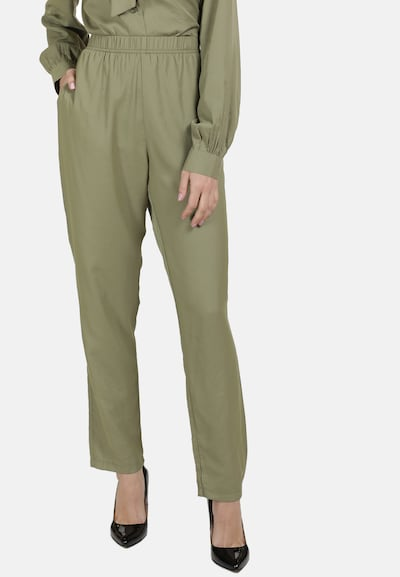 DreiMaster Klassik Hose in khaki, Modelansicht