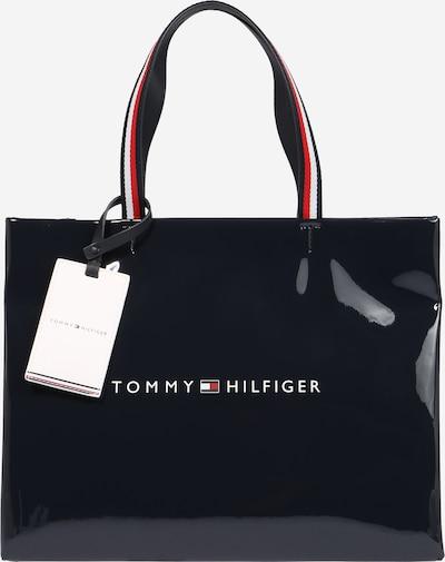 TOMMY HILFIGER Shoppingväska i mörkblå / röd / vit, Produktvy
