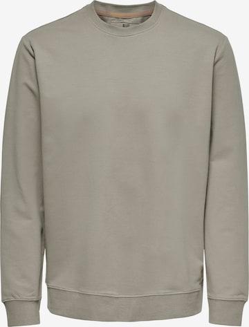 Only & Sons Sweatshirt 'Kenneth' in Grau