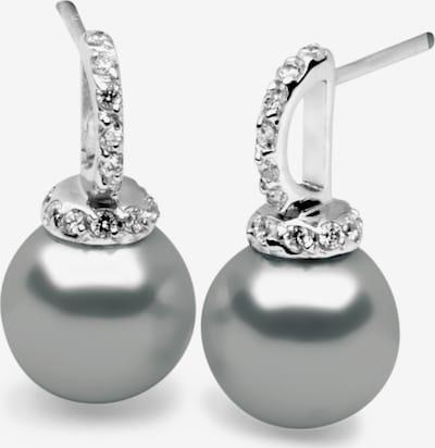 Nana Kay Earrings 'Fashion Pearl' in Silver / White, Item view