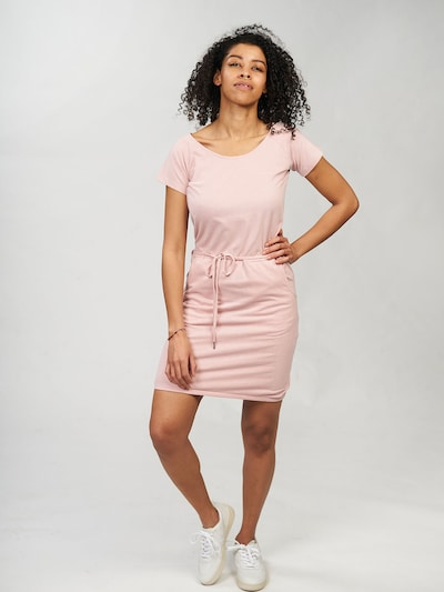 mazine Printed Dress ' Namu ' in rosa, Modelansicht
