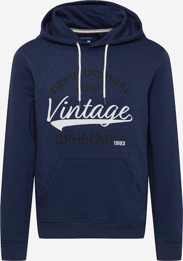 BLEND Sweat-shirt en bleu marine / noir / blanc, Vue avec produit
