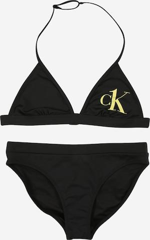 Calvin Klein Swimwear Bikini in Schwarz