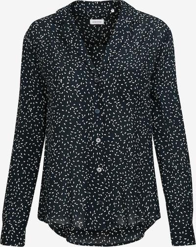SEIDENSTICKER Bluse in dunkelblau / weiß, Produktansicht