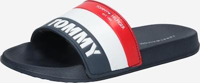 TOMMY HILFIGER Plážová/koupací obuv - modrá / červená / bílá, Produkt