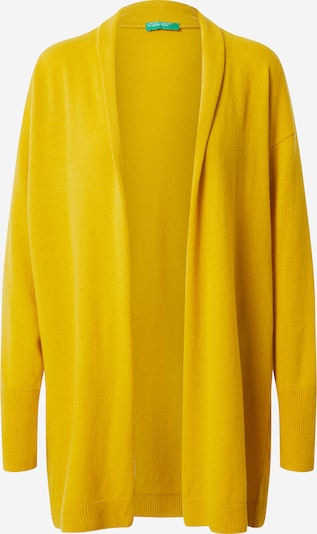 UNITED COLORS OF BENETTON Kardigan u žuta: Prednji pogled