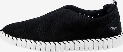 MUSTANG Slip-On in grau / schwarz / weiß, Produktansicht