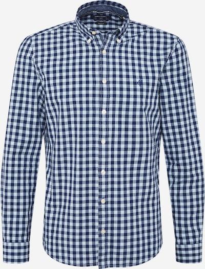 Marc O'Polo Overhemd in de kleur Duifblauw / Wit, Productweergave