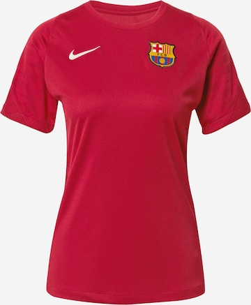 NIKE Spordisärk 'FC Barcelona Strike', värv punane
