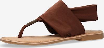 MEXX Zehentrenner 'Gruffo' in braun, Produktansicht