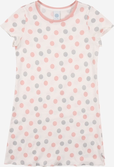 SANETTA Nightgown in Grey / Pink / natural white / mottled white, Item view