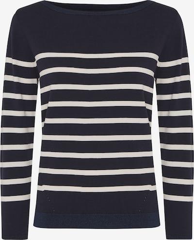 MEXX Pullover in dunkelblau / weiß, Produktansicht
