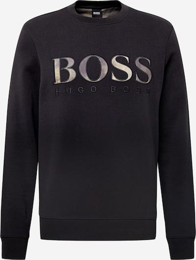 BOSS Casual Majica 'Welogo' | temno siva / črna barva, Prikaz izdelka
