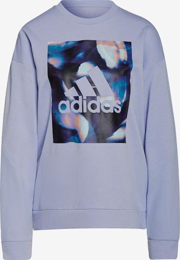ADIDAS PERFORMANCE Sportsweatshirt in flieder / mischfarben / schwarz, Produktansicht