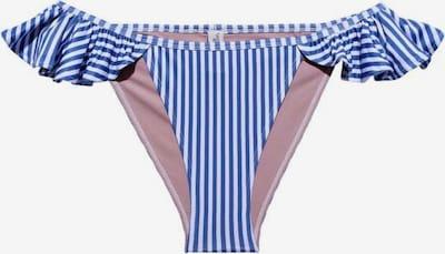 Underprotection Bikinihose 'Rita' in blau / weiß, Produktansicht
