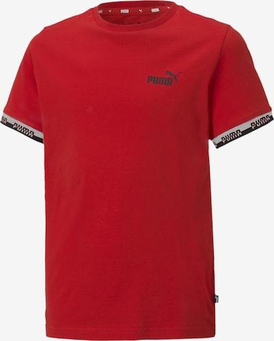 PUMA Funktionsshirt in marine / rot / weiß, Produktansicht