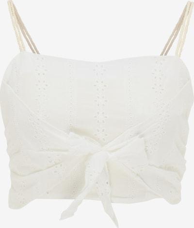MYMO Top | bela barva, Prikaz izdelka