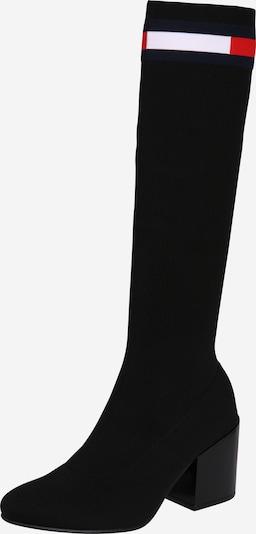 Cizme Tommy Jeans pe navy / roșu / negru / alb, Vizualizare produs
