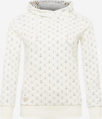Ragwear Plus Sweat-shirt 'MARINA' en bleu / blanc naturel, Vue avec produit