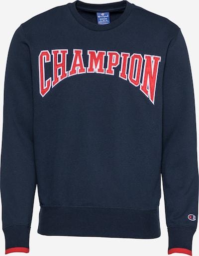 Champion Authentic Athletic Apparel Sweat-shirt en bleu marine / rouge / blanc, Vue avec produit