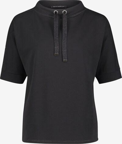 Betty Barclay Sweatshirt mit Stehkragen in schwarz, Produktansicht