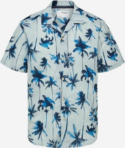 SELECTED HOMME Košile 'Simon' - nebeská modř / tmavě modrá / offwhite, Produkt